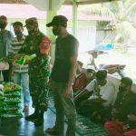 Salurkan Bantuan Untuk Pesantren, Dandim Abdya Sebut Saling Berbagi Itu Indah