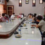 Kunker ke Nagan Raya Sekda Aceh Berpesan Agar Upah Nakes Segera Disalurkan